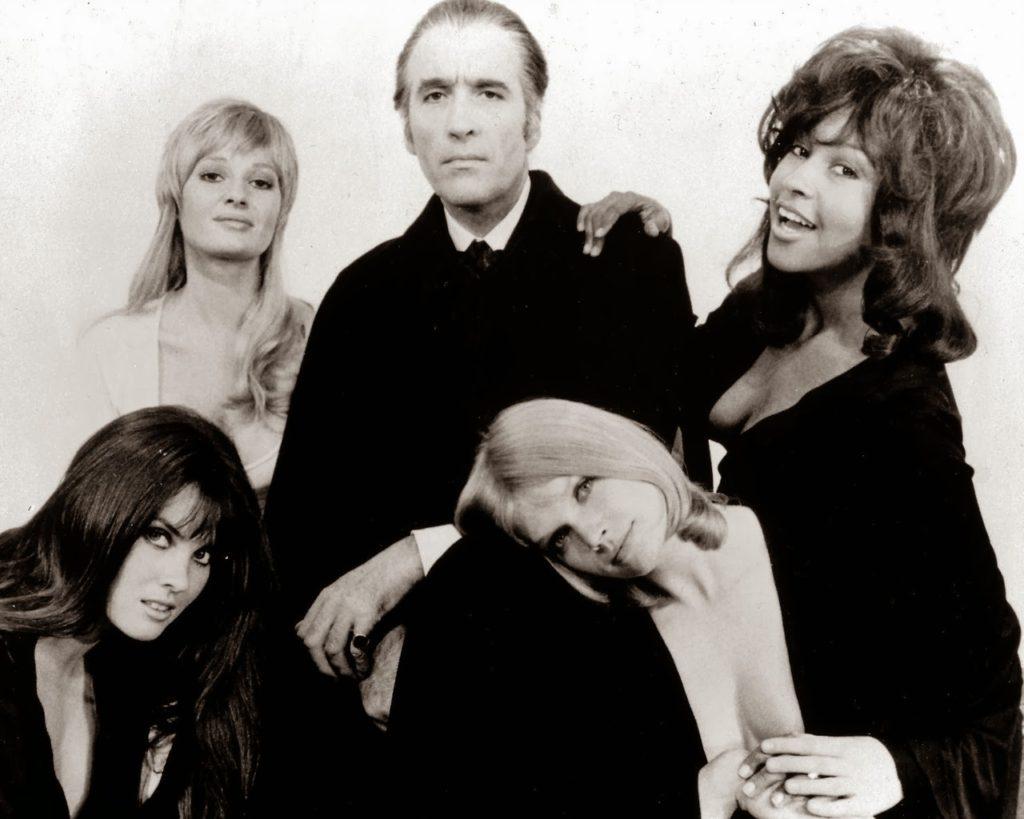 Dracula A.D. 1972 (1972) - production still