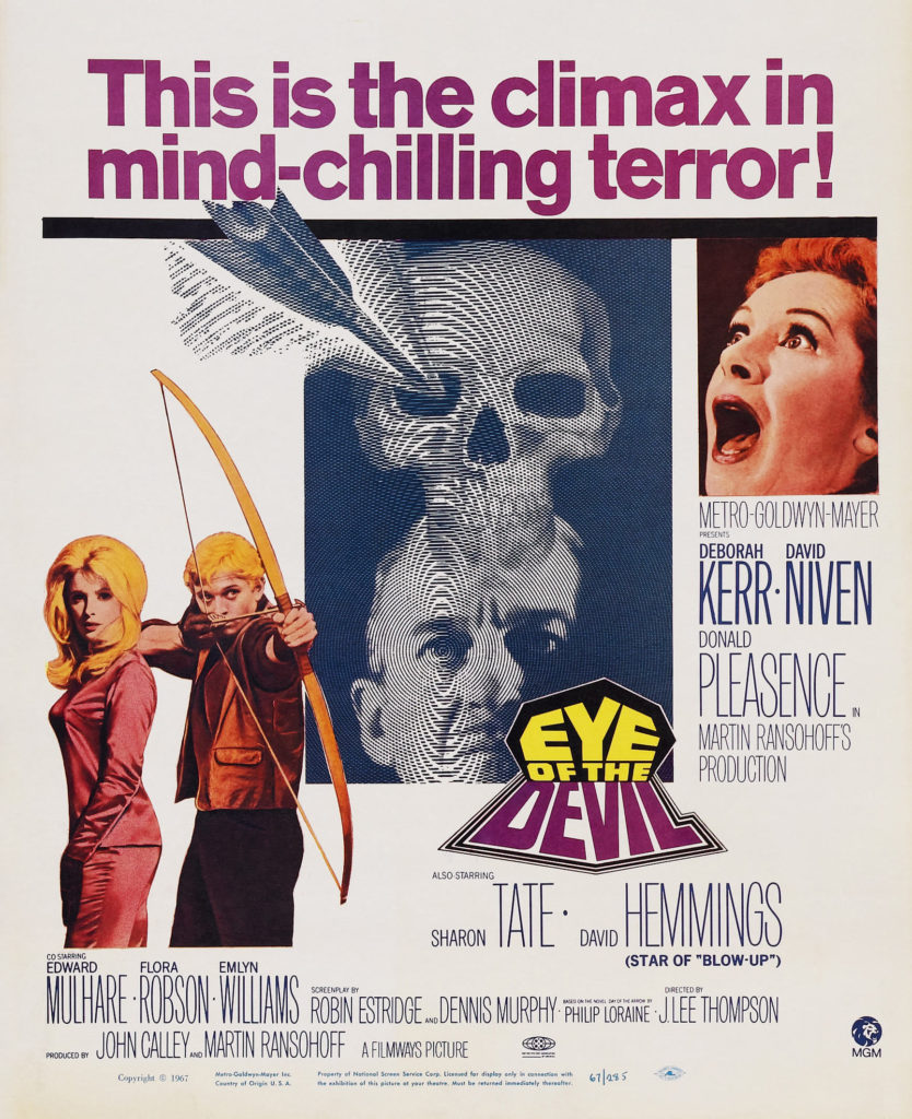 Eye of the Devil (1966) - poster