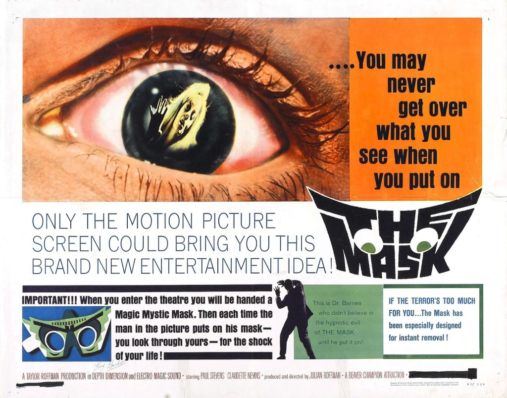 The Mask (1961) - poster