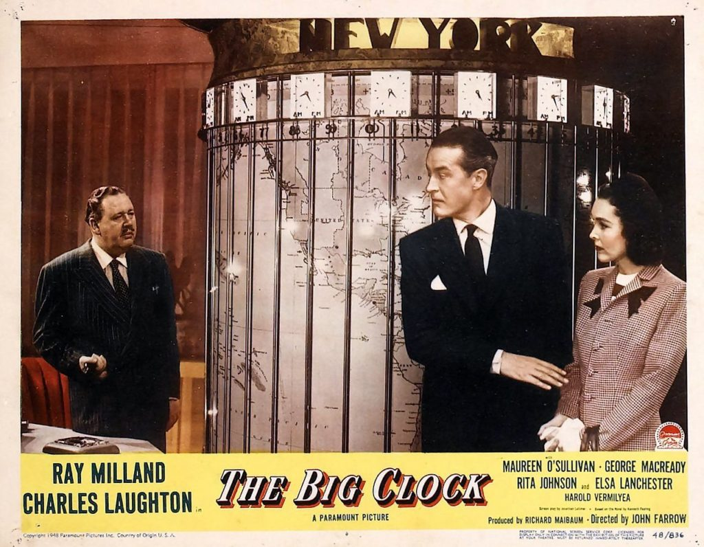 The Big Clock (1948) - poster 2