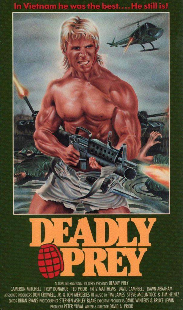 Deadly Prey (1987) - poster