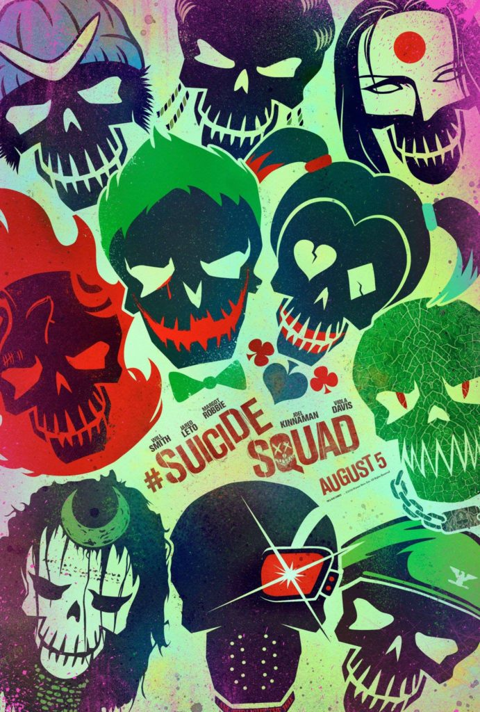 Suicide Squad (2016) - poster