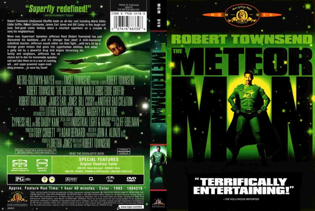 Meteor Man (1993) - DVD cover
