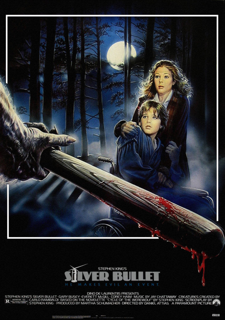 Silver Bullet (1985) - poster
