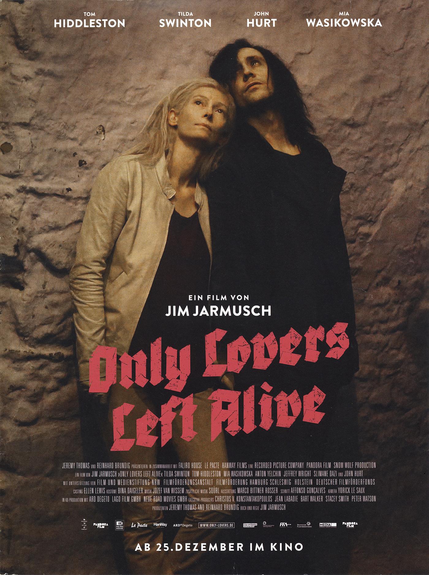 October 2nd: Only Lovers Left Alive (2013)