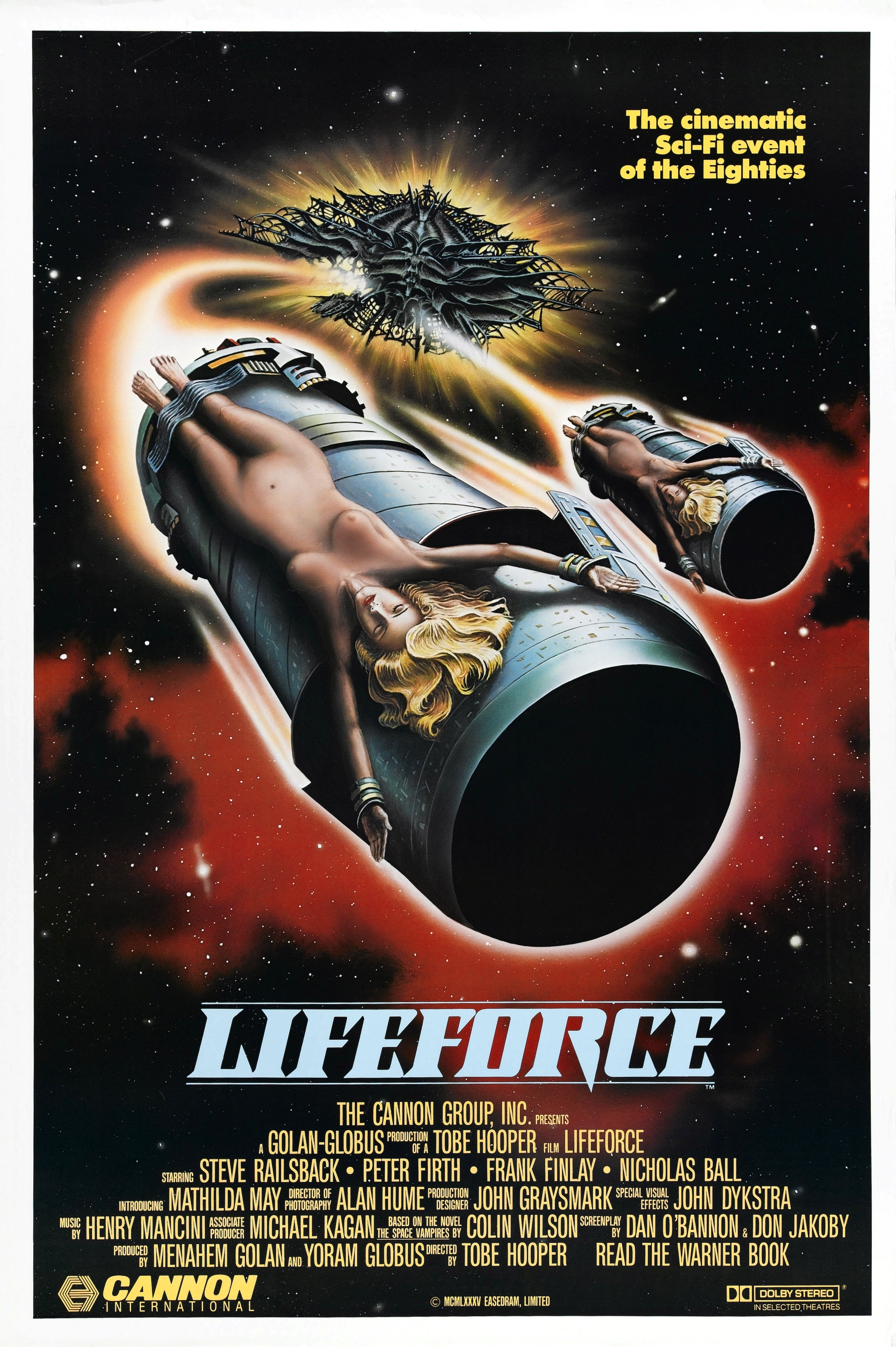 October 21st: Lifeforce (1985)