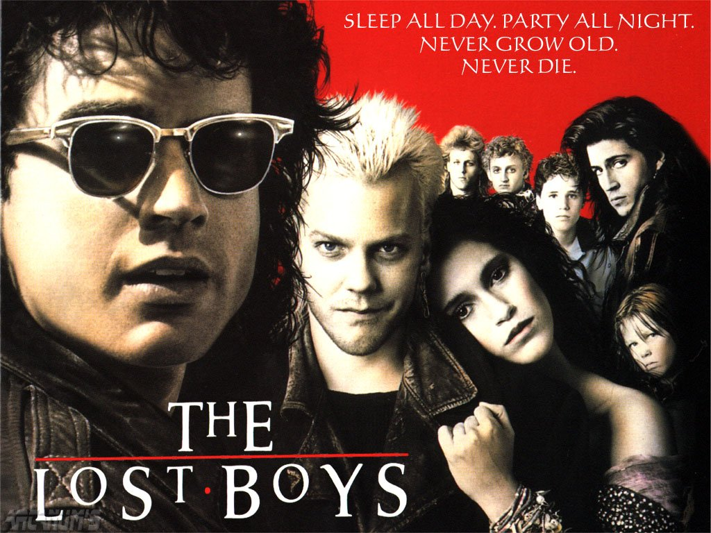 The Lost Boys (1987) - poster