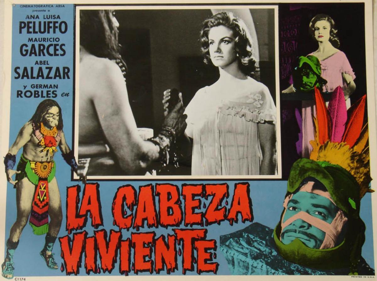 La Cabeza Viviente (1963) - poster 1