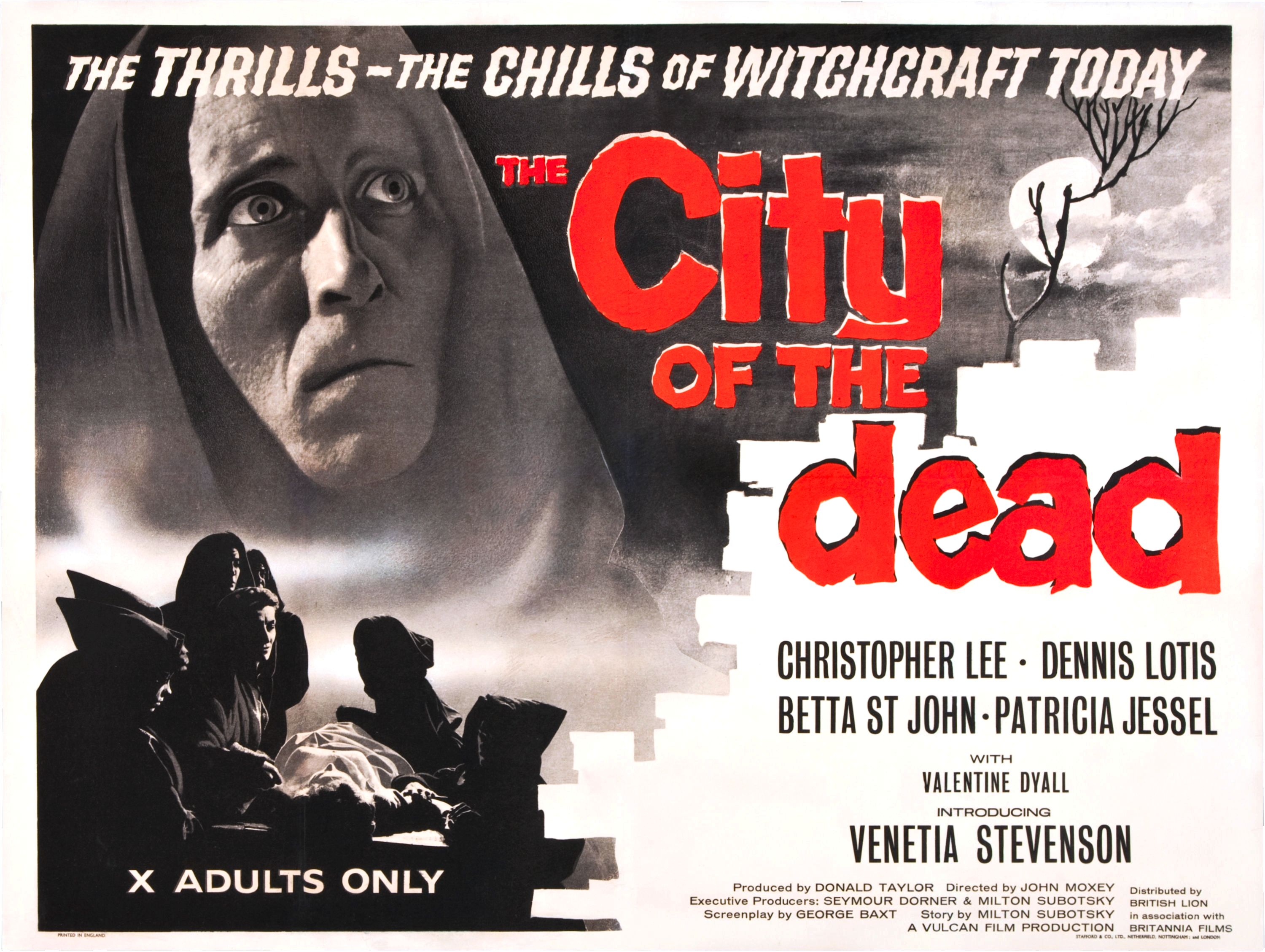 The City of the Dead (1960) - poster