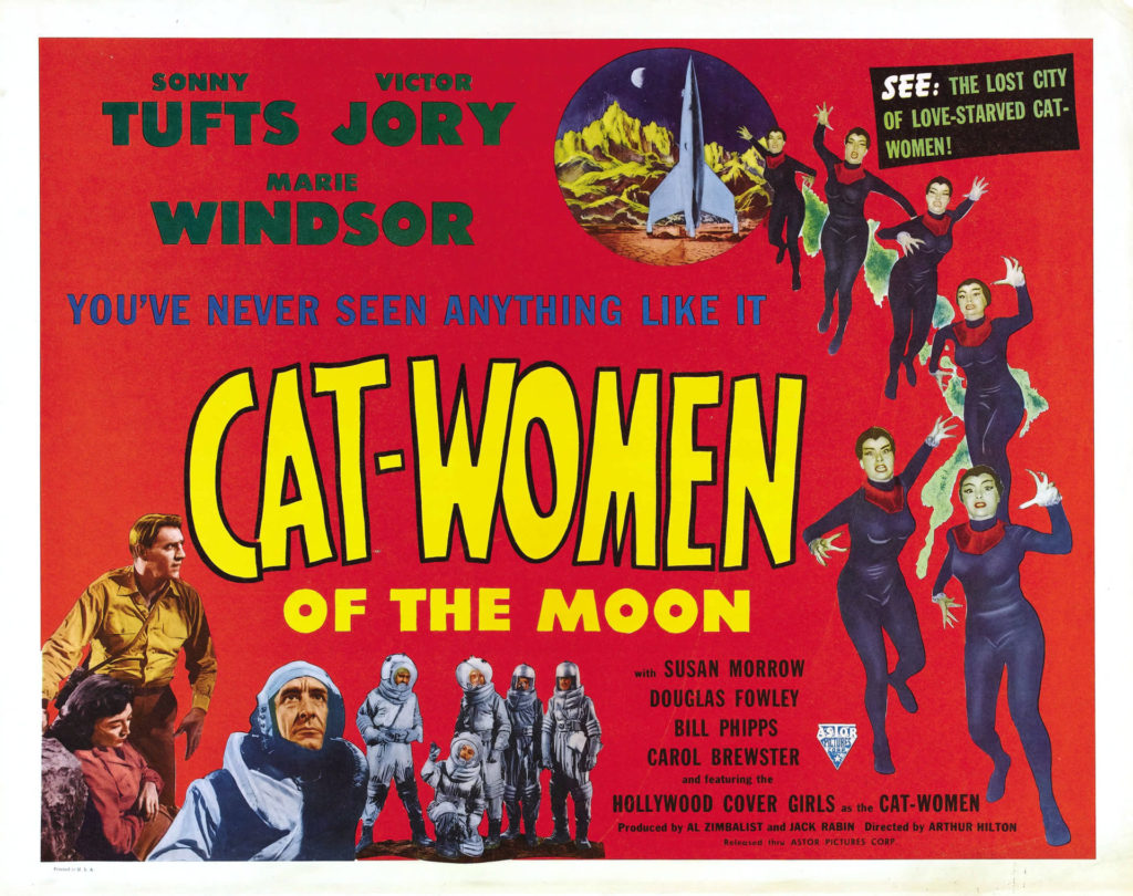 Cat-Women of the Moon (1953) - poster