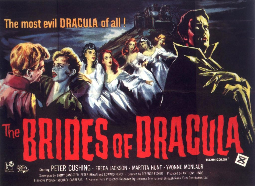 The Brides of Dracula (1960) - poster
