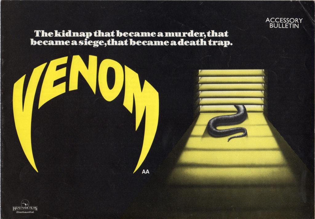 Venom (1981) - poster