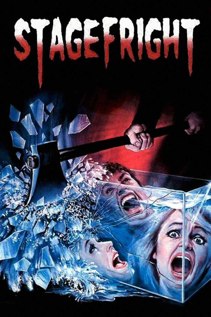 Stagefright (1987) - poster