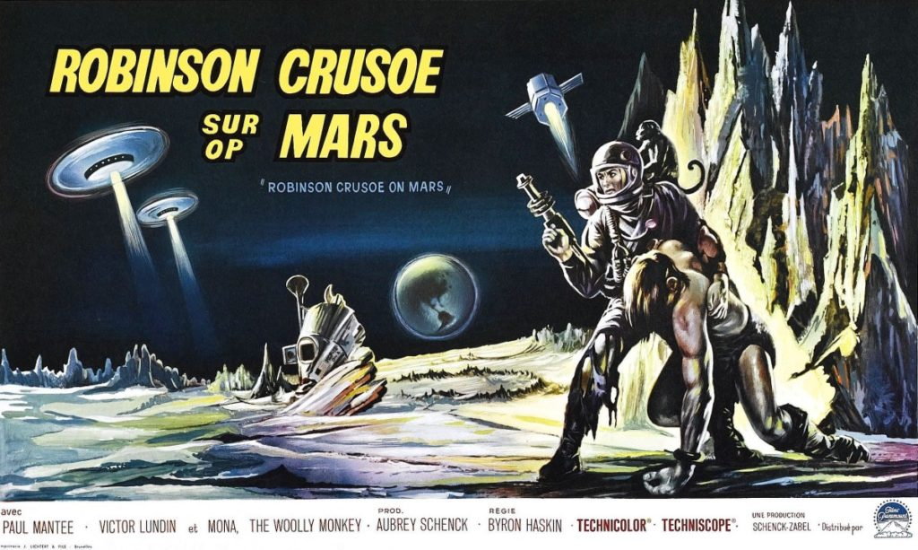 Robinson Crusoe on Mars (1964) - poster