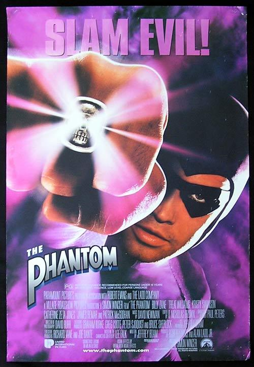The Phantom (1996) - poster