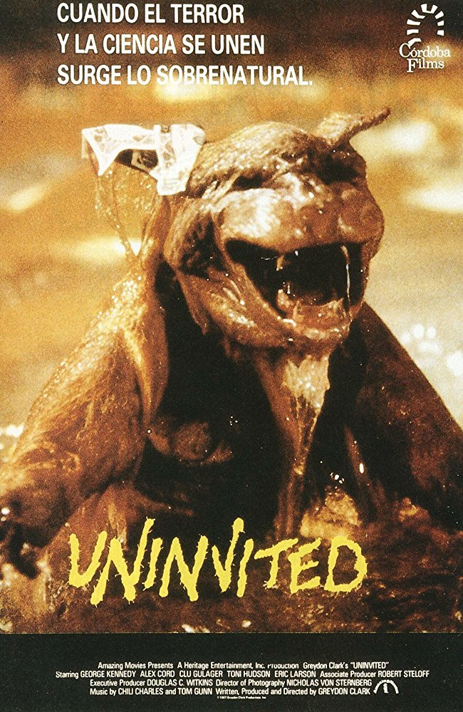 Uninvited (1988) - poster 4