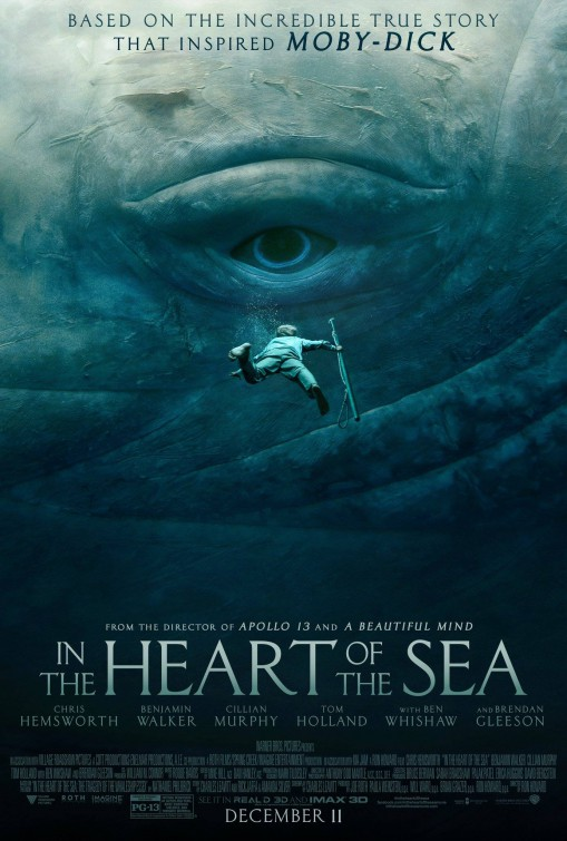 In The Heart of the Sea (2015) - poster