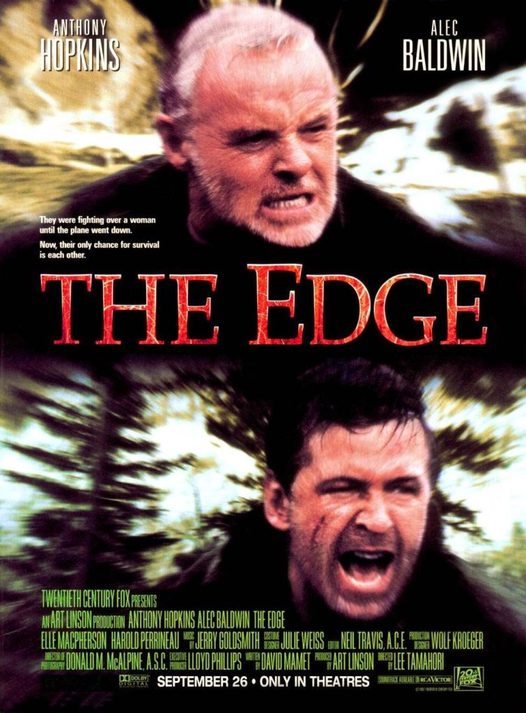 The Edge (1997) - poster