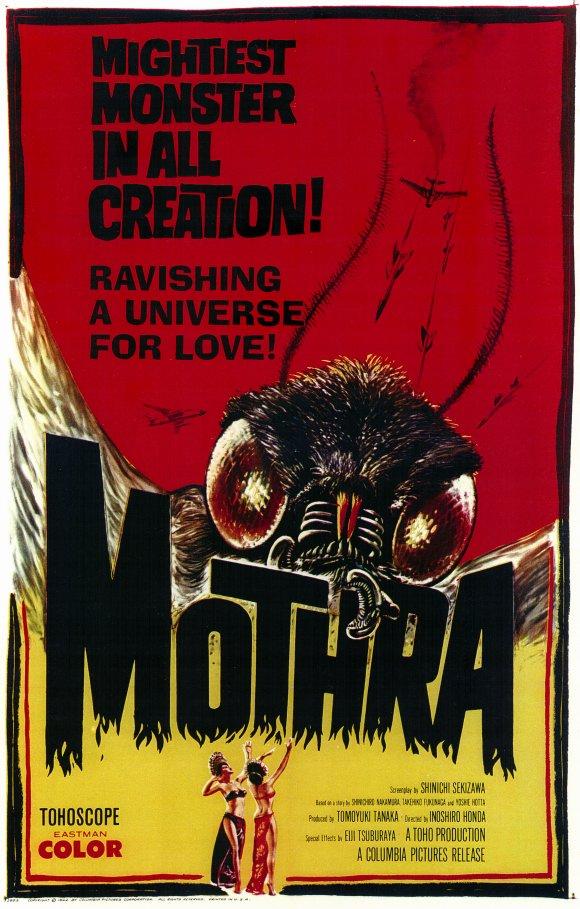Mothra (1961) - poster