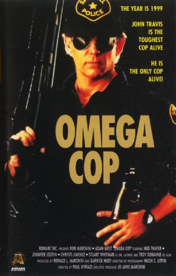 Omega Cop (1989) - poster