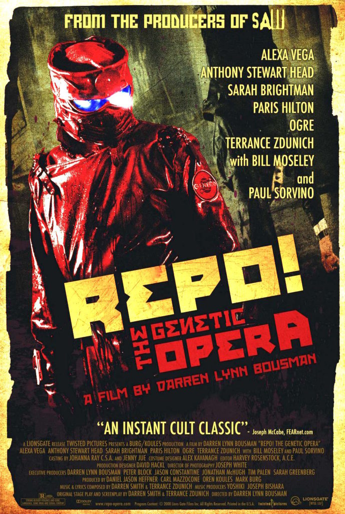 Repo The Genetic Opera (2008) - poster