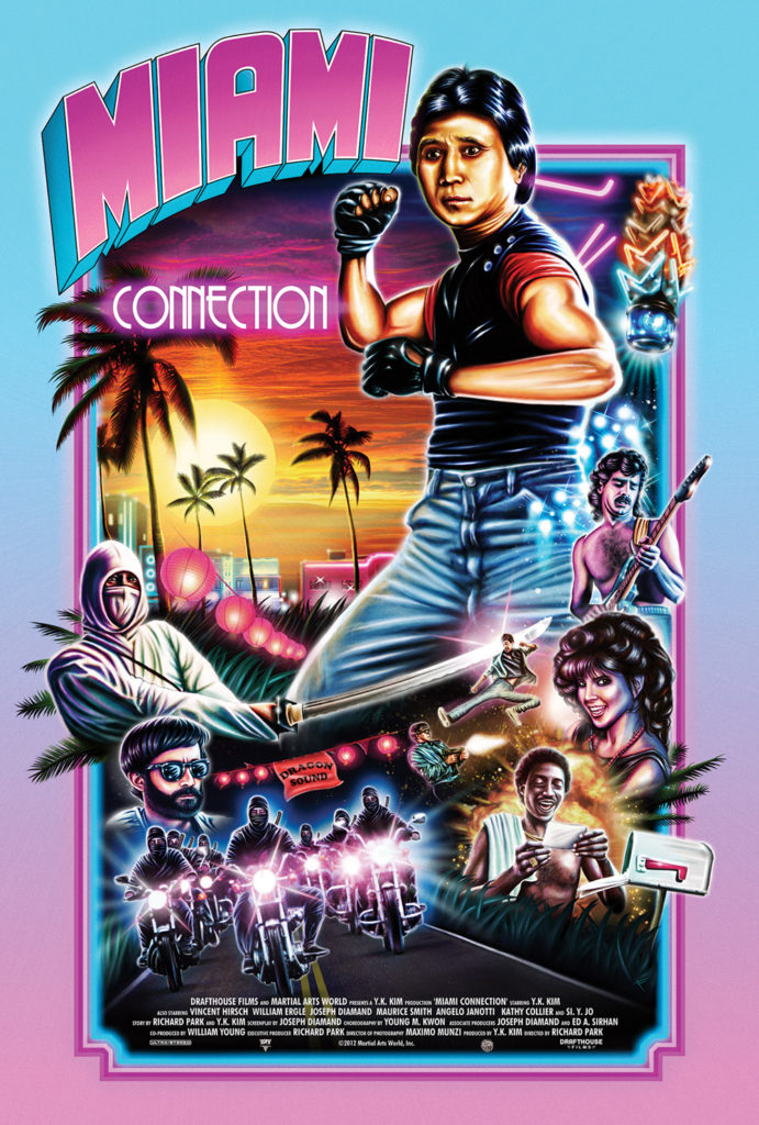 Miami Connection (1987) - poster