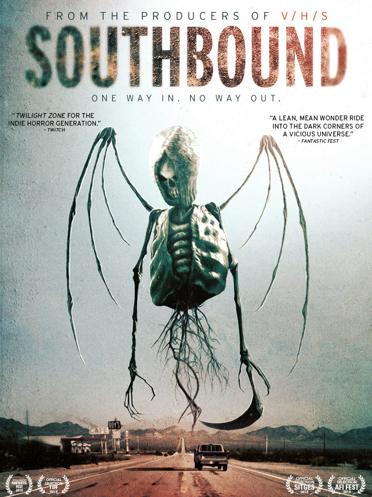 Southbound (2015) - poster