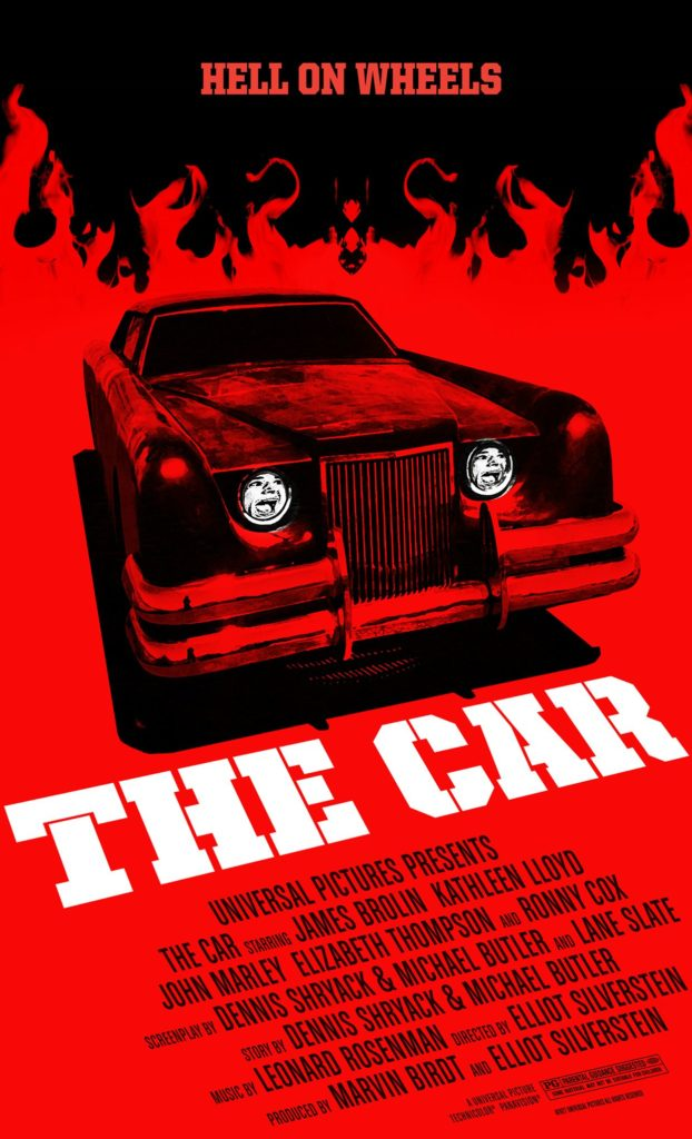 The Car (1977) - poster